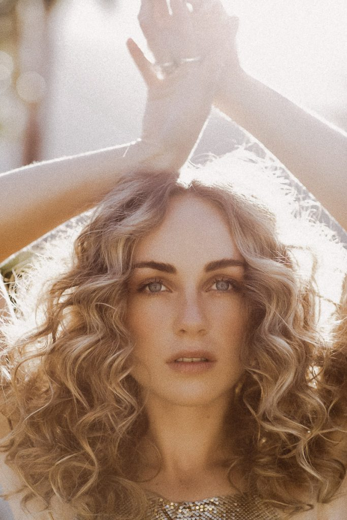 Palm Springs Style editorial shoot with Zella Day